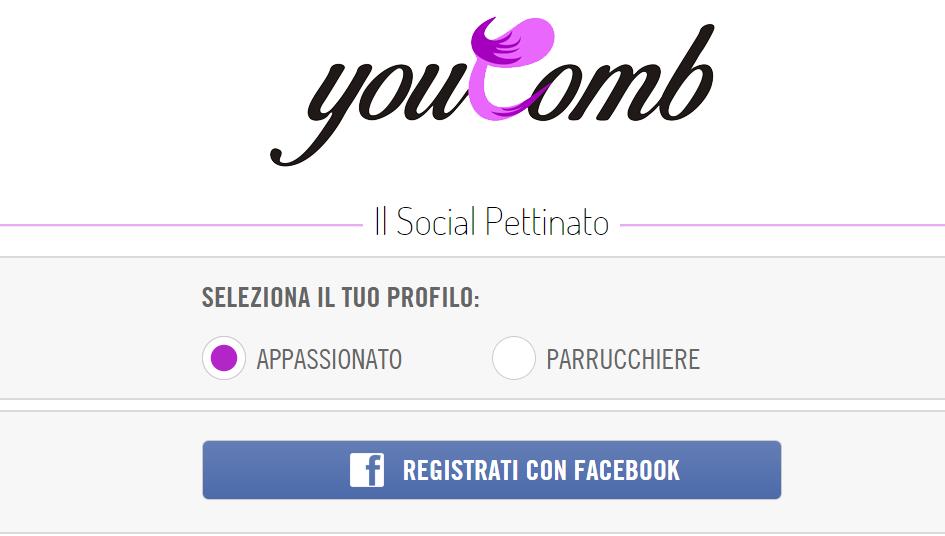 youcomb-registrazioneconfacebook