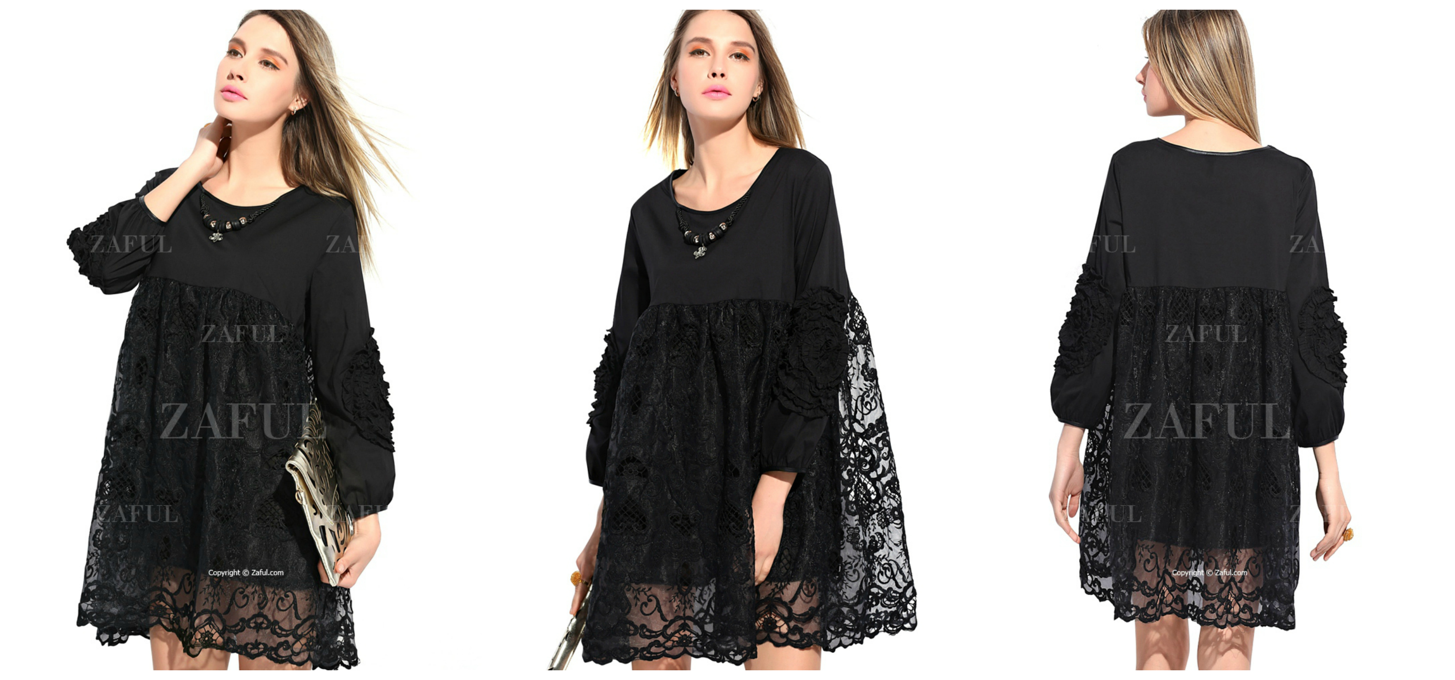 LACE-OVER-SIZE-DRESS-ZAFUL-EASTER-PARTY-DRESS