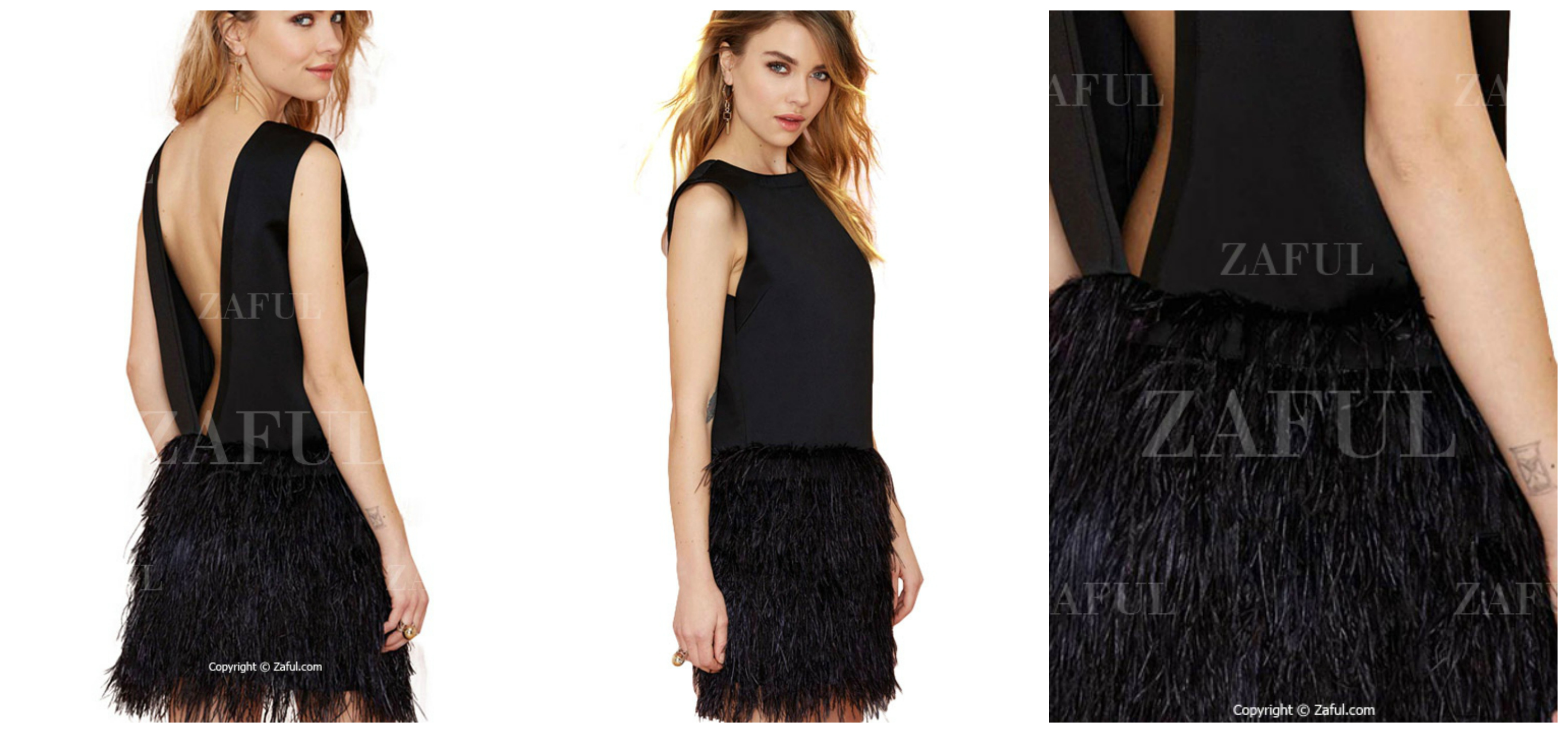 fringe-total-black-lbd-easter-party-zaful