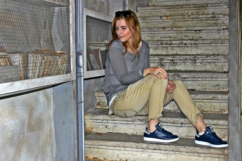ELISABETTA BERTOLINI- FASHION BLOG ITALIA OUTFIT STAN SMITH