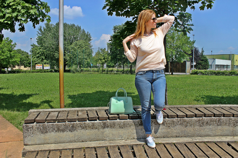 ELISABETTABERTOLINI-outfit-risskio-caleidos-borse-shaftjeans-kawasakifootwear2