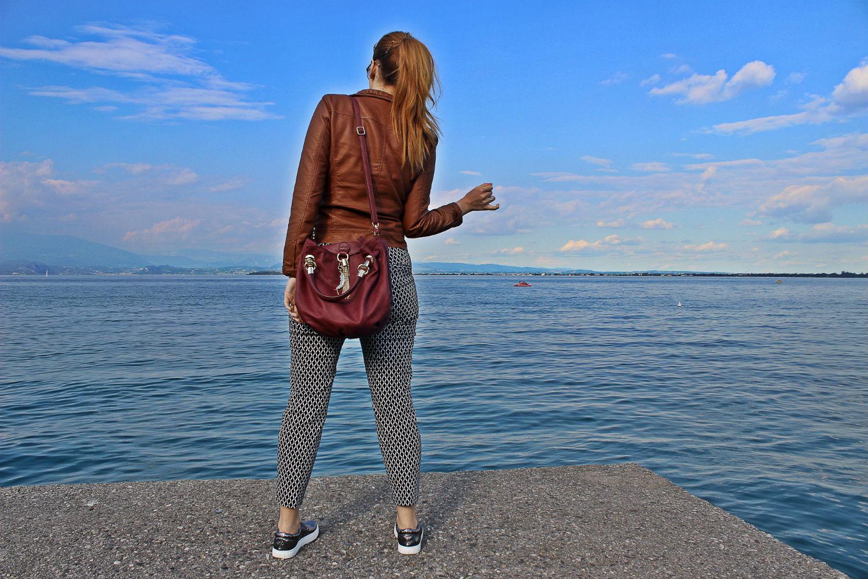 elisabetta bertolini outfit lago di garda desenzano travel