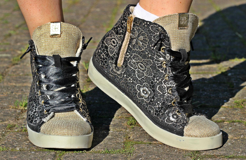 cd8ef6fa56 magnifiche sneakers di pizzo by Fiori di Picche