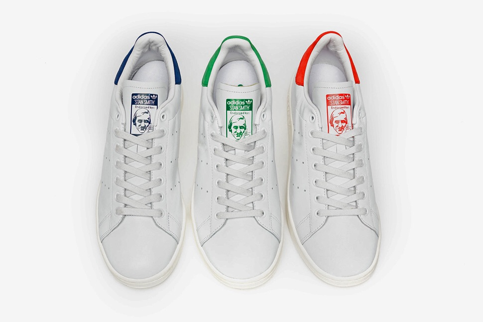 Stan smith vs pharrell williams for Stan smith colori