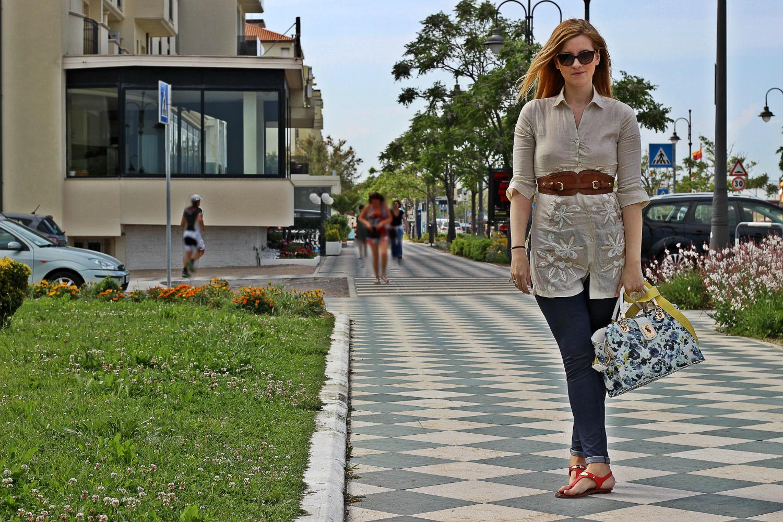 naracamicie camicia in lino nuova collezione calzitaly leggings made in italy