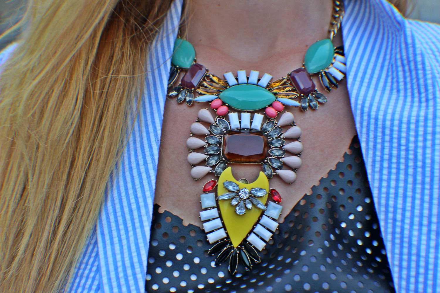 COLLANA HAPPINESS BOUTIQUE STATEMENT NECKLACE