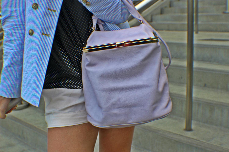 dianaco firenze borsa viola pastello summer