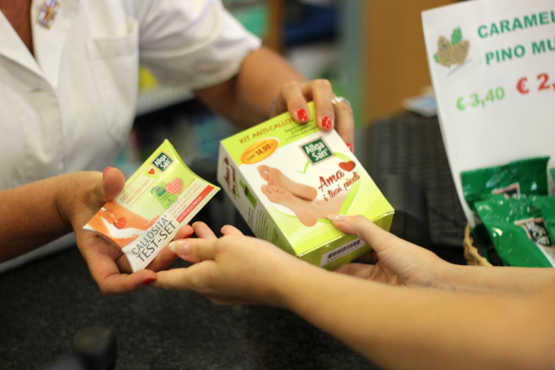 kit anti callosità allgasan naturwaren - farmacia
