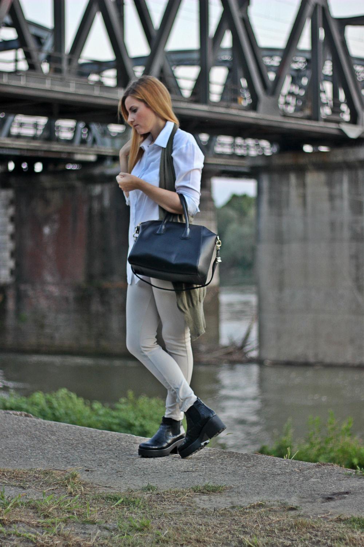 ELISABETTA BERTOLINI fashion blogger italia - camicia bianca - look donna - outfit - cremona