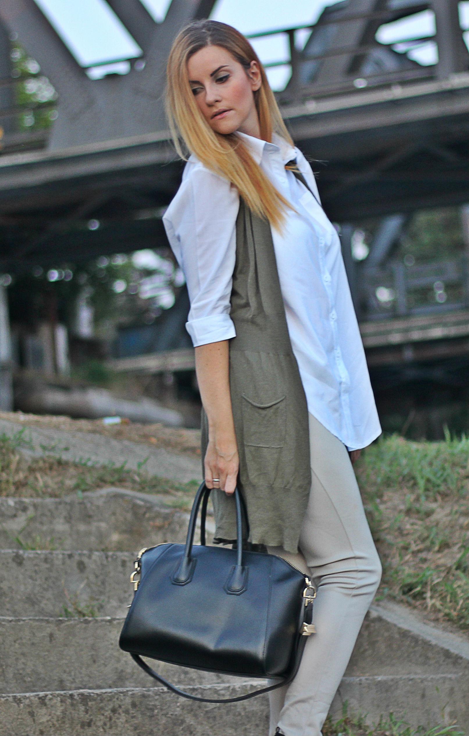 elisabetta bertolini look abbigliamento donnna camicia bianca fashion blogger italiana