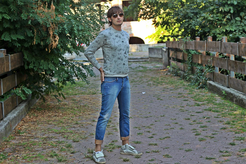 felpa promod outfit fine stagione uomo