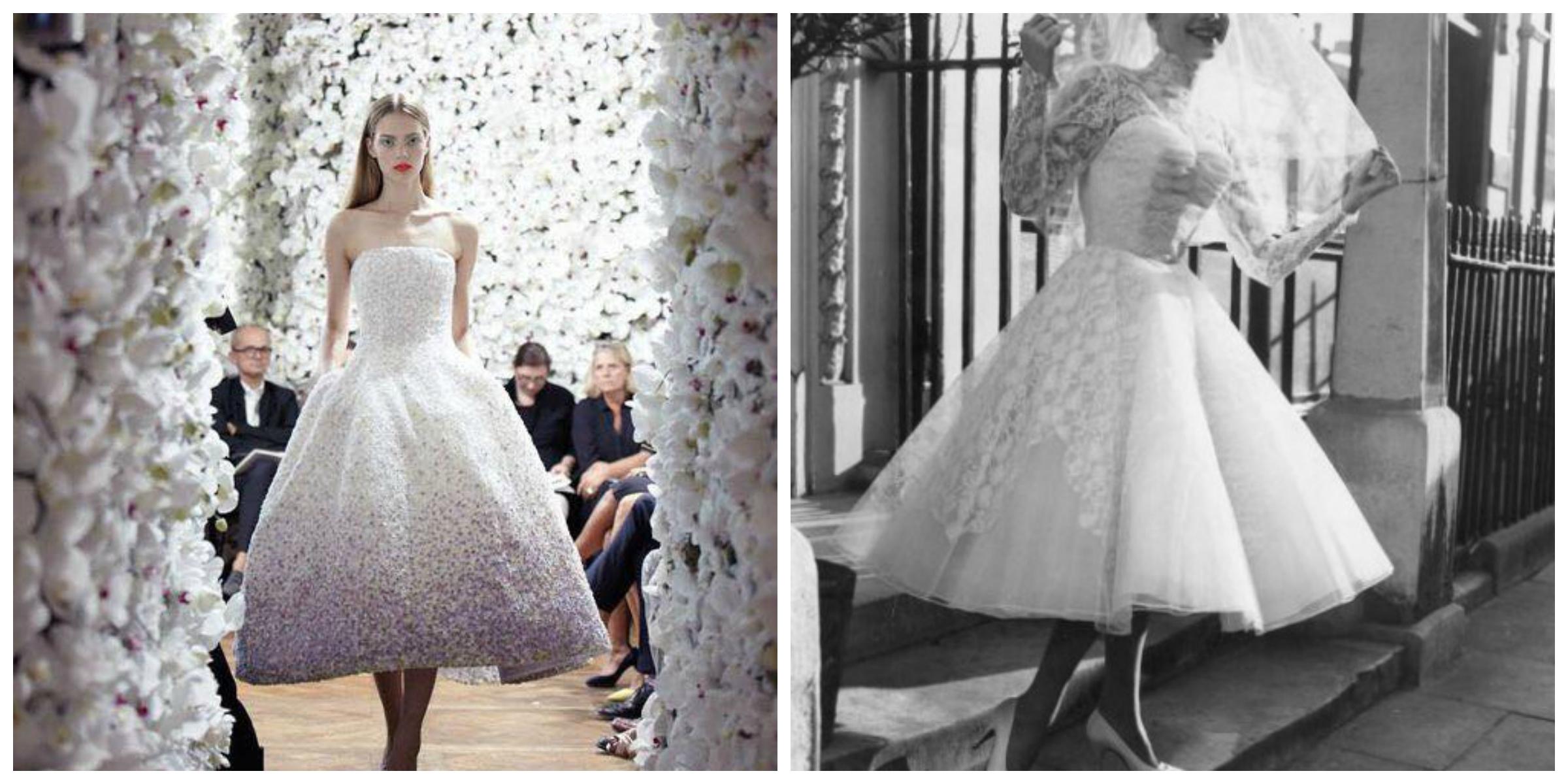 sposa vintage anni 50 tendenze moda sposa