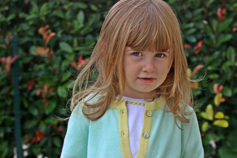 Gaia Masseroni Fashion kids - modella fashion bimbi per Gusella