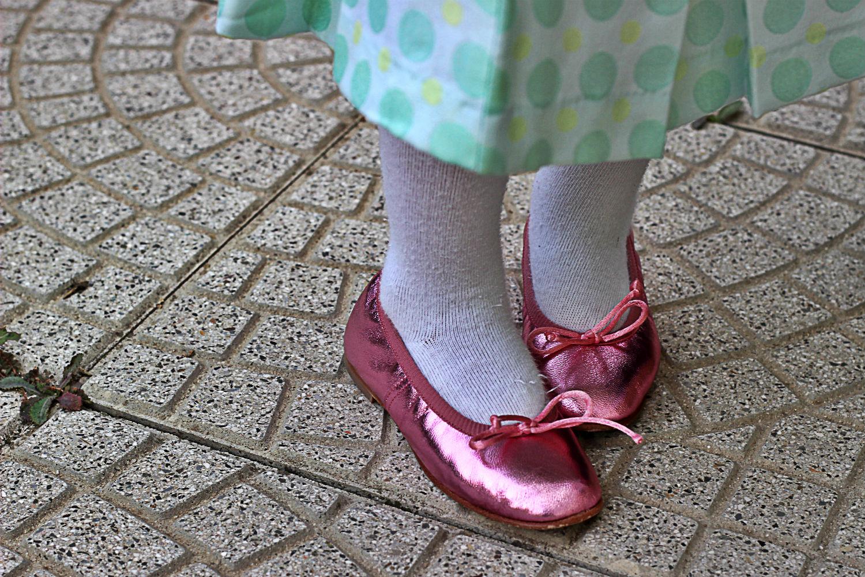 ballerine rosa cangianti moda bimba by Prosperine