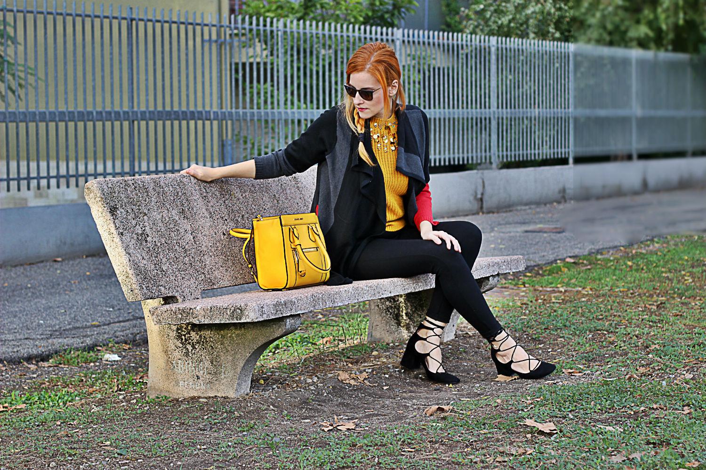 cozy style elisabetta bertolini fashion blogger italia cremona lace up