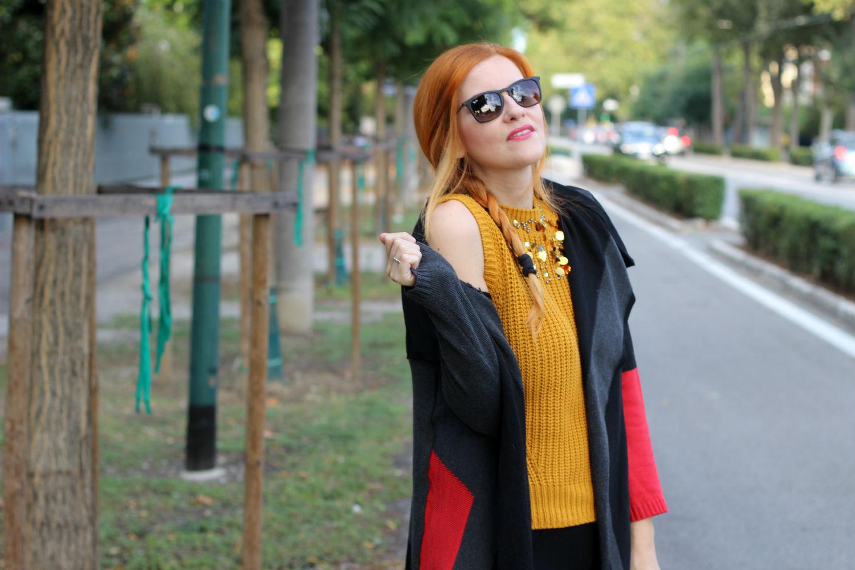 elisabetta bertolini - cozy cardigan - comfy style rayban fashion blogger italiana