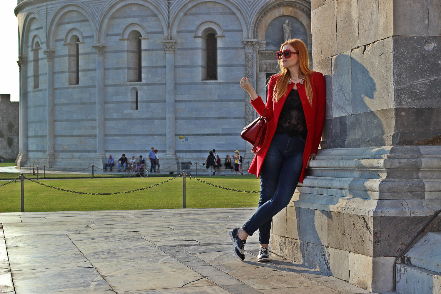 elisabetta bertolini look casual outfit moda donna fashion blog italia