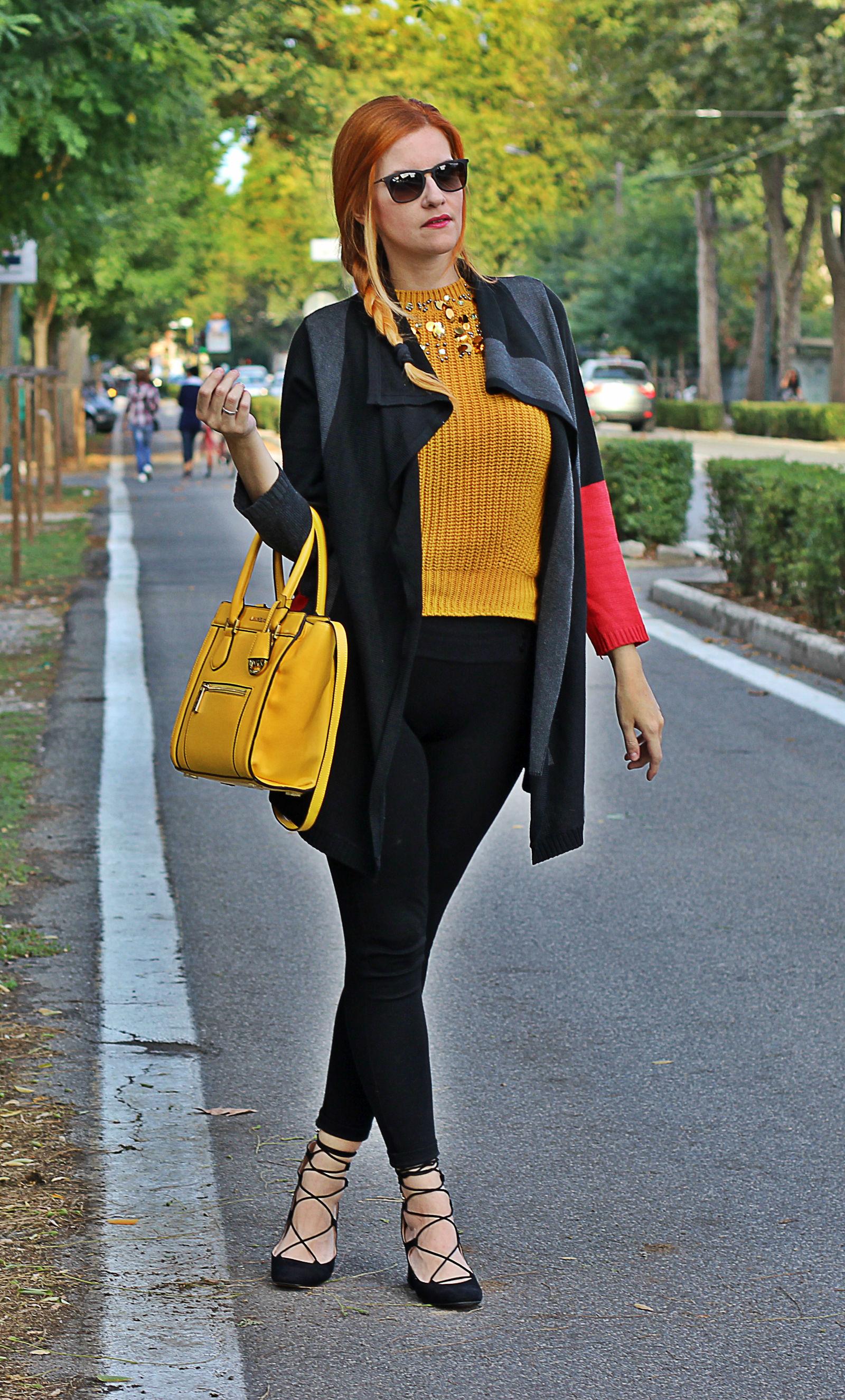 look comfy scarpe lace up elisabetta bertolini outfit fashion blog