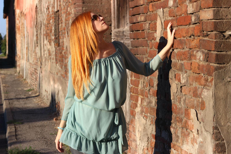 blusa oversize shabby chic elisabetta bertolini fashion blogger italiana -ootd