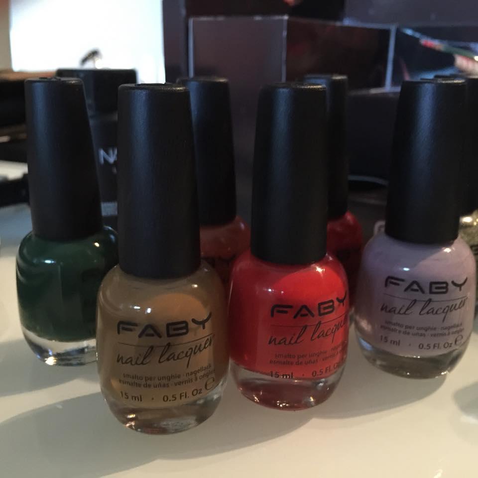 colorazioni faby nails collezione illusion