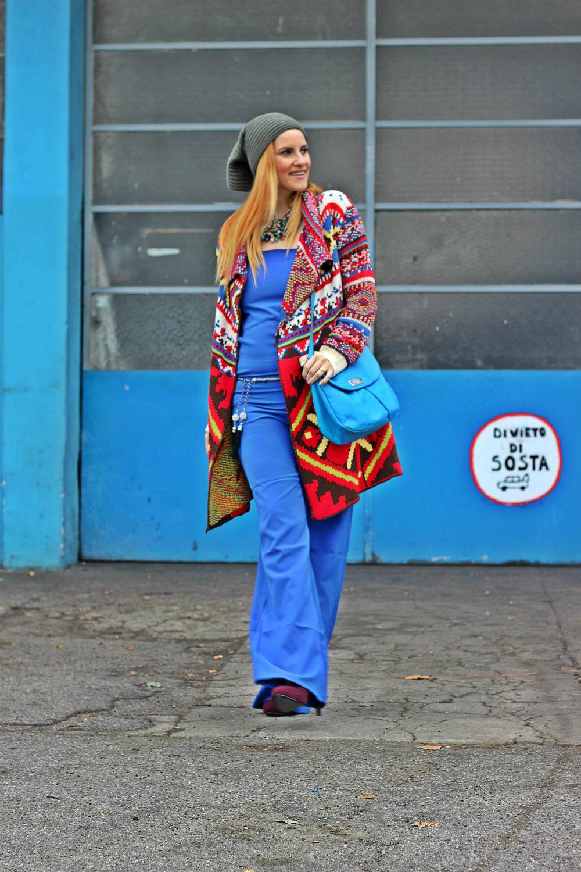elisabetta bertolini - fashion blogger italiane - blog di moda - cozy style - outfit  etnico - autun