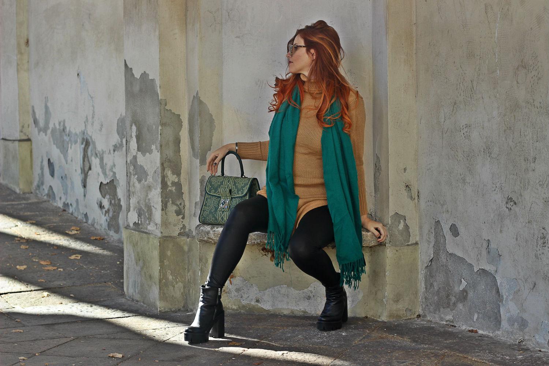 elisabetta bertolini top fashion influencer italia - fashion blogger - outfit autuno - maxi pull