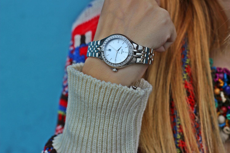 orologio festina - elisabetta bertolini - orologio donna strass