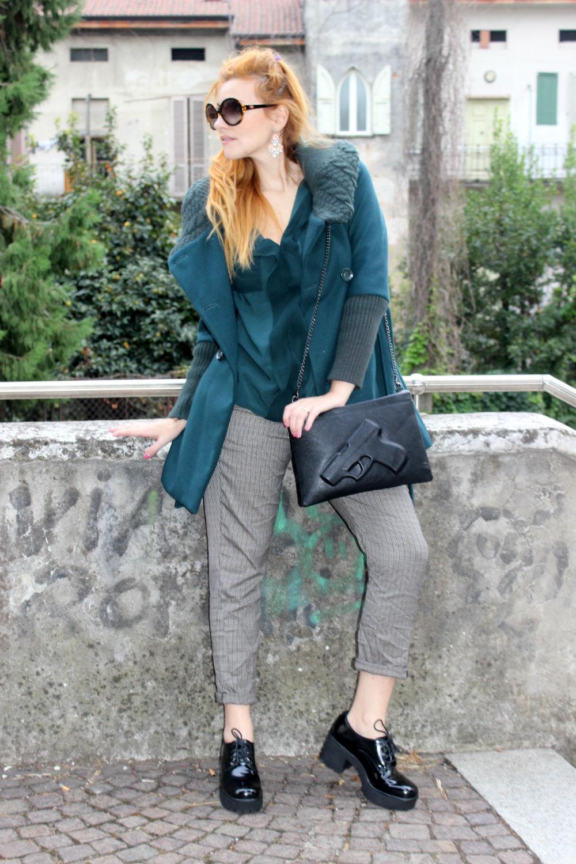 outfit autunno 2015 - elisabetta bertolini - abbigliamento donna - fashion blog italia - bighet