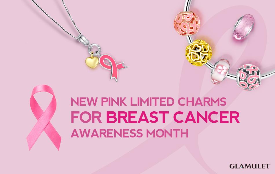 prevenzione cancro al seno Glamulet charms