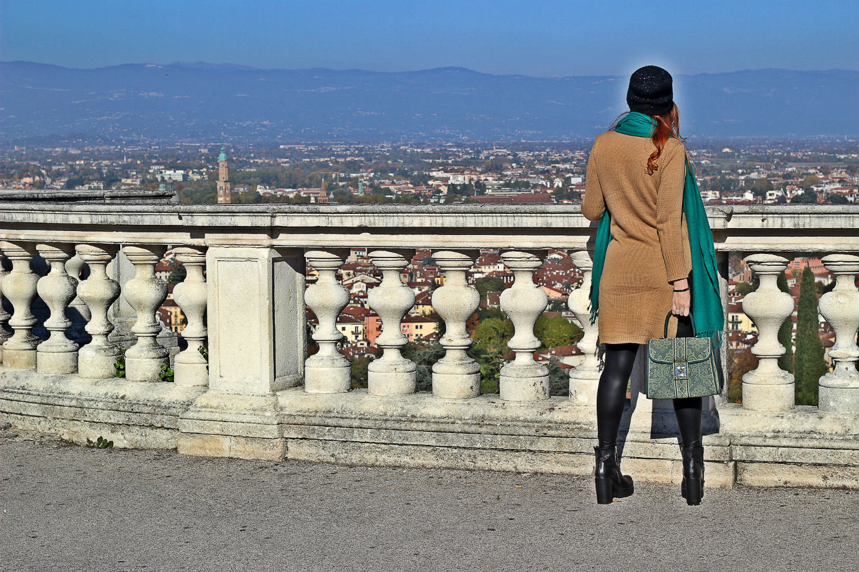 vista monte di Berico - panorami città di Vicenza Elisabetta Bertolini fashion blogger italia trends