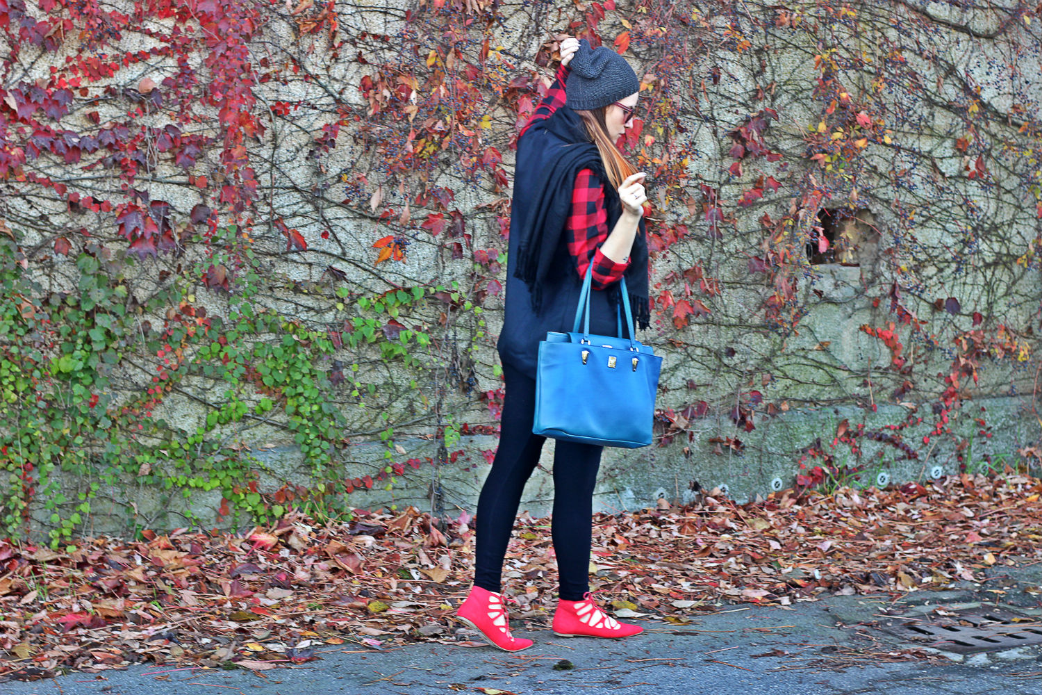 ELISABETTA BERTOLINI - FASHION BLOGGER - LACE UP - BORSA SELFIE PIERO GUIDI
