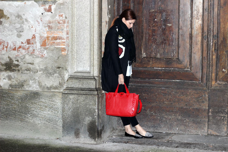 Elisabetta Bertolini Fashion blogger italia - borsa rossa - pollini - ballerine butterfly twists