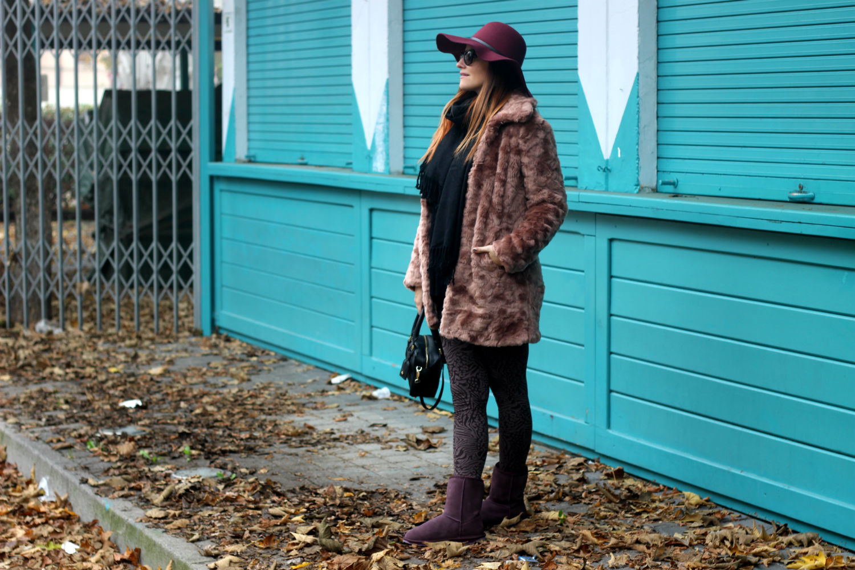 ... Elisabetta bertolini - outfit winter 2015 - emu italia - fashion  blogger - cappello tesa larga ... 5818026b19b