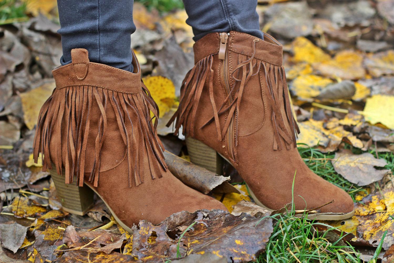 camperos stivali con frange by modress - trends scarpe autunnali