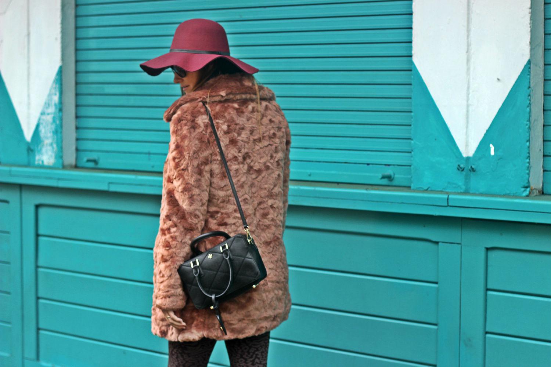 elisabetta bertolini - borsetta tory burch - outfit winter  2016- ecopelliccia deha