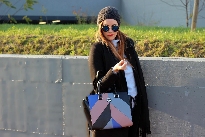 elisabetta bertolini carlo pazolini borsa over size fashion blogger outfit autunno