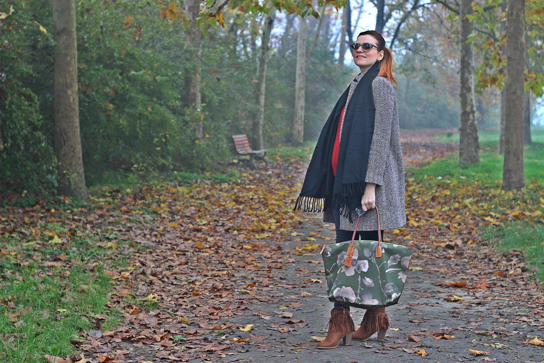 fashion blogger incinta - cremona - outfit autunno - cappotto compagnia italiana
