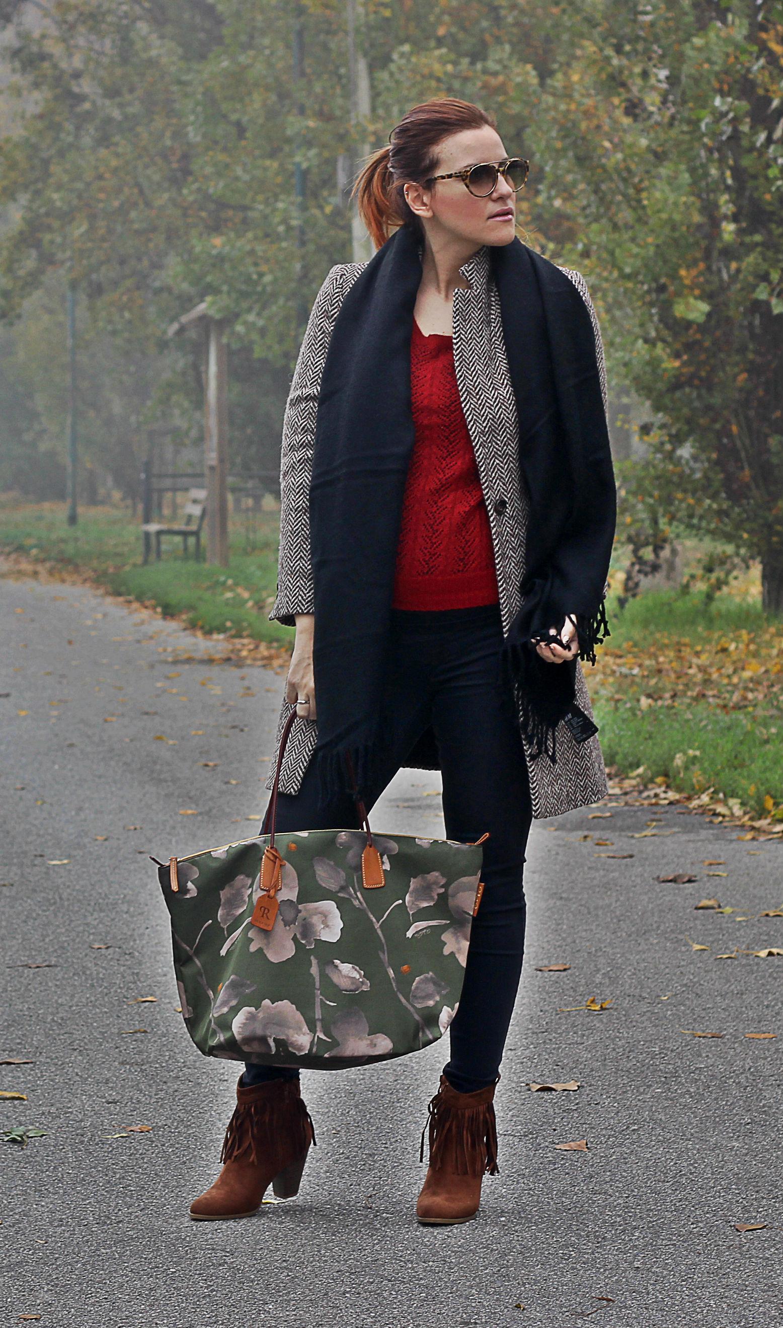 outfit moda donna - fashion blogger incinta 6 mesi - moda donna outfit autunno