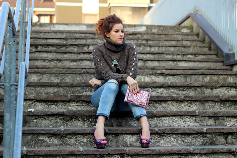 urban look accessori glitter fashion blogger italiane 2016