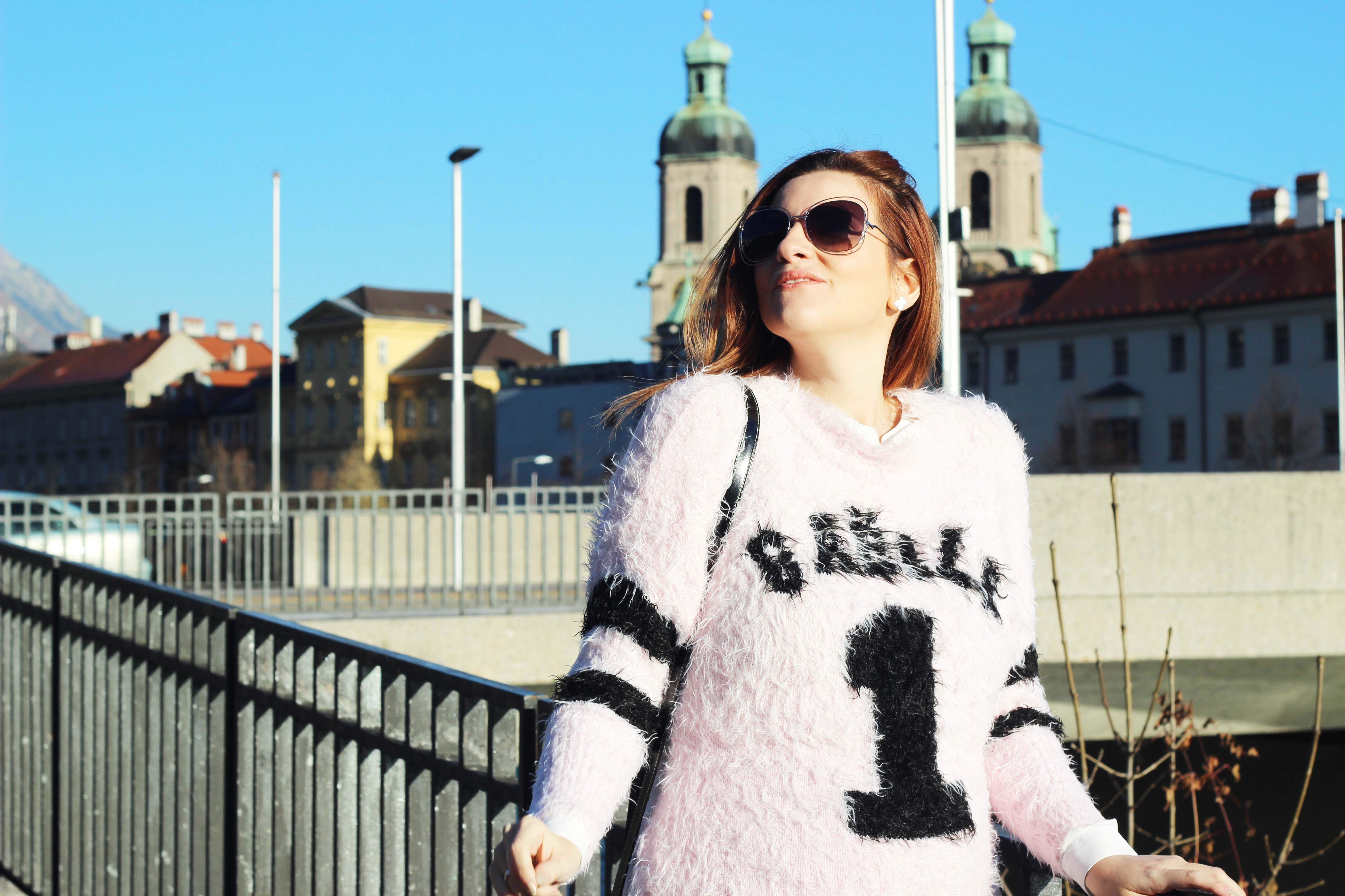 ELISABETTA BERTOLINI - PULLOVER - OUTFIT INVERNO gaelle bonheur