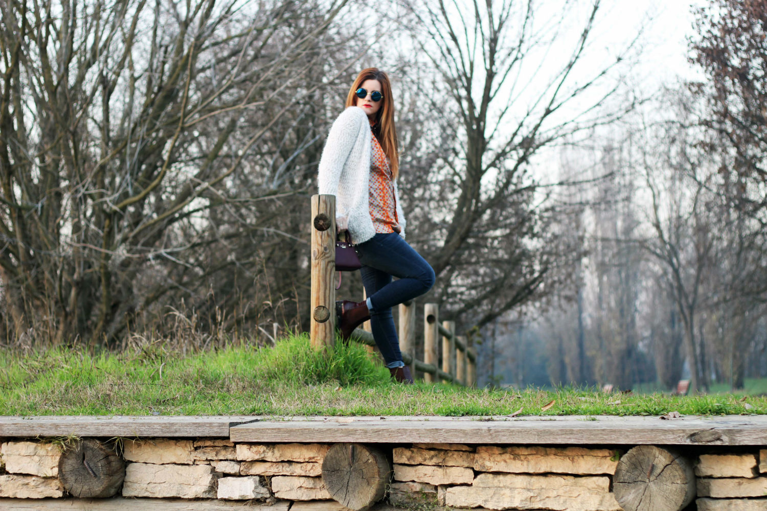 ELISABETTA BERTOLINI winter look fashion blogger italiane