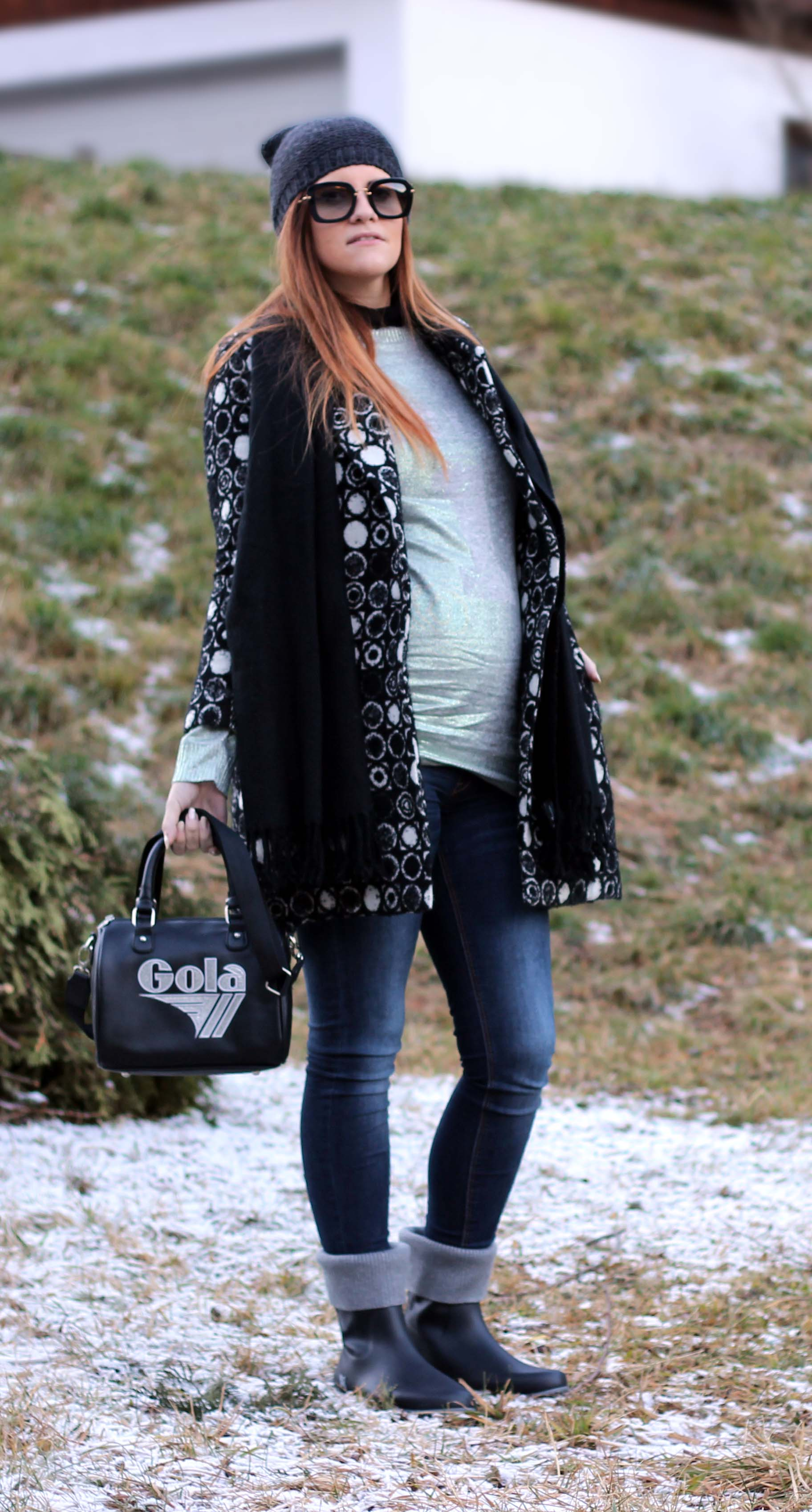 FASHION BLOGGER INCINTA - OUTFIT INVERNALE