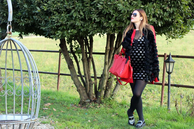 abito donna winter look gravidanza outfit dolce attesa abito da sera elegante natale 2015
