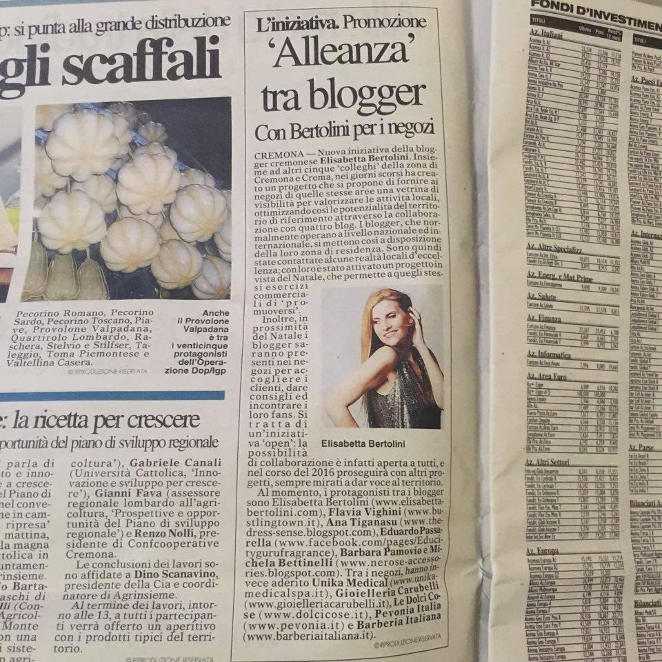 articolo elisabetta bertolini e i blogger cremonesi uniti per cremona