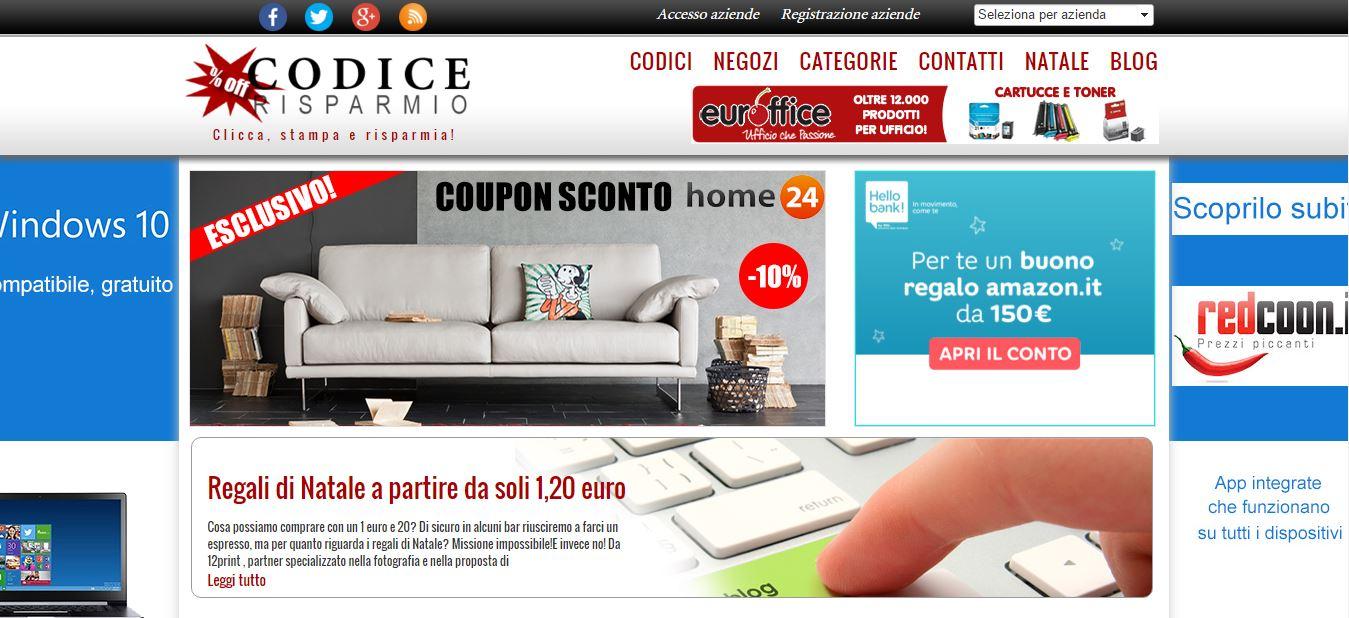 codice risparmio italia