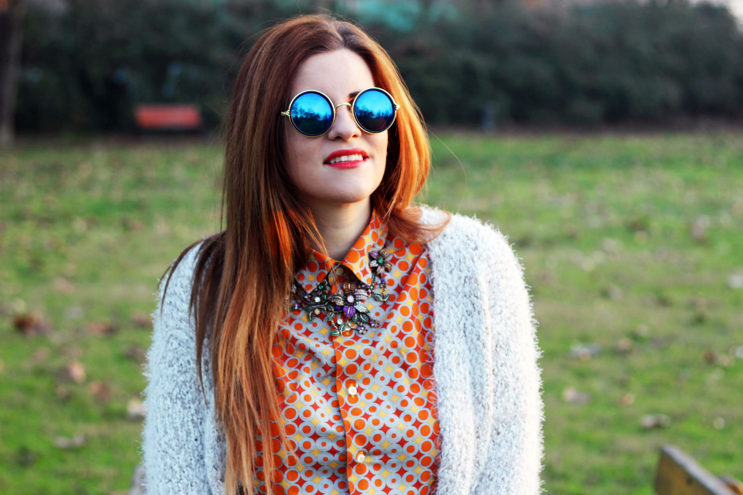 elisabetta bertolini fashion blogger italiane winter look collana zara