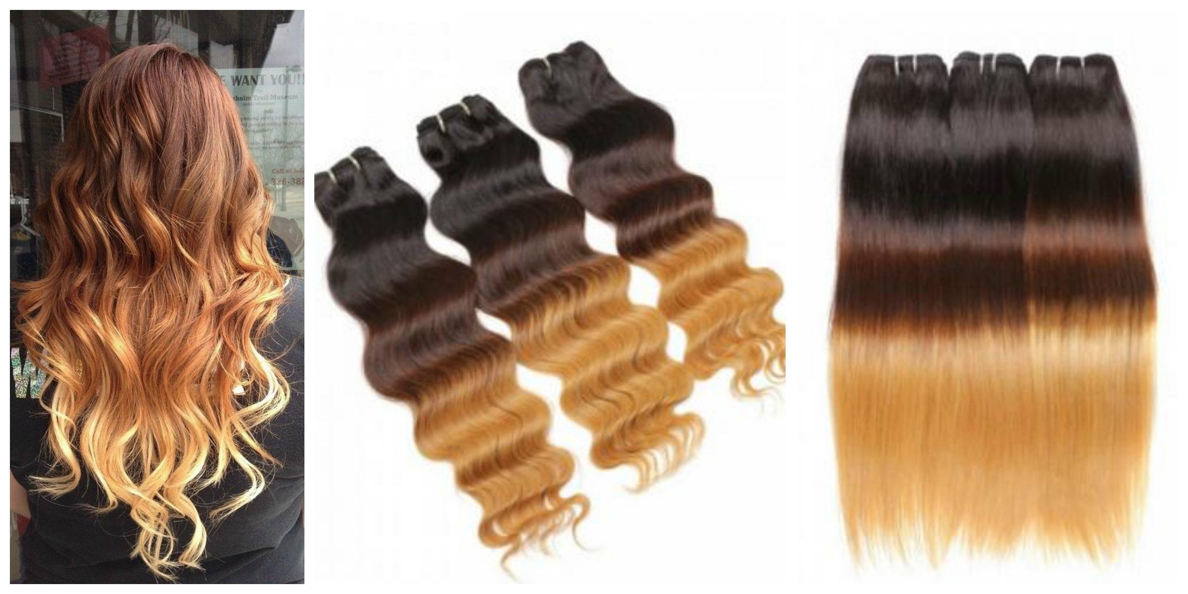 extension per capelli MOFAIN OMBRE HAIR CON ESTENSIONI