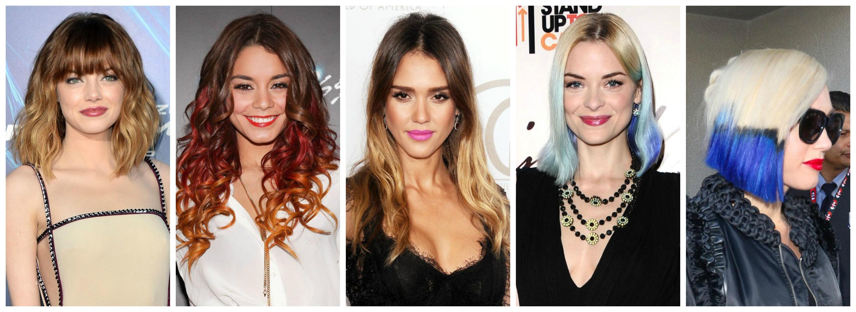 ombre hair la scelta delle celebrità nuove tendenze capelli -