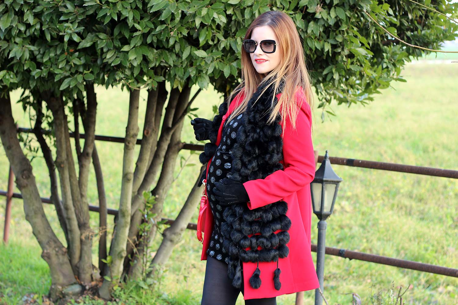 outfit fashion blogger incinta