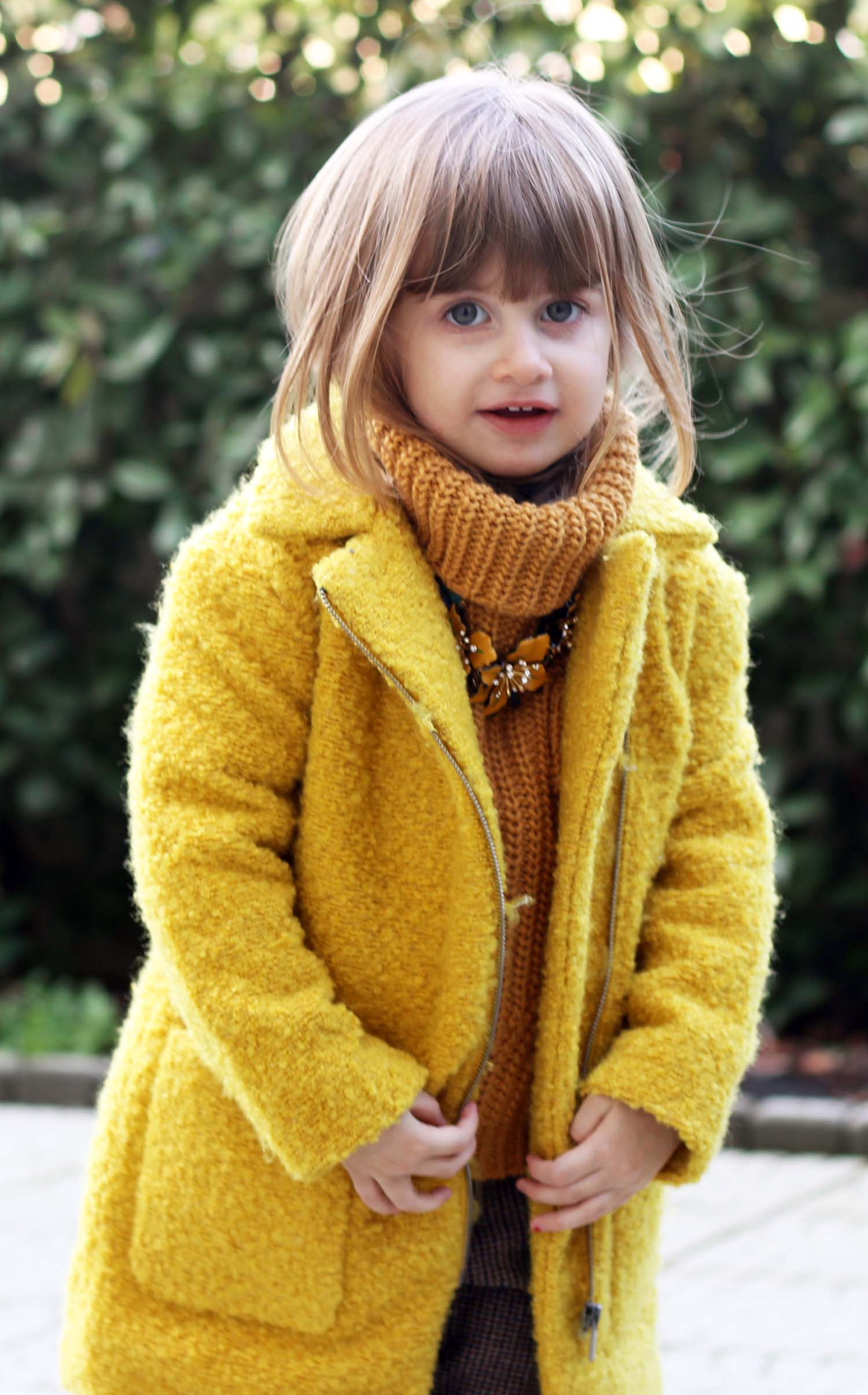 GAIA MASSERONI - COZY STYLE MODA BIMBA OUTFIT INVERNALE FASHION KIDS ITALIA